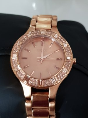 Donna Karan Analoog horloge roségoud
