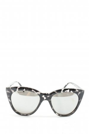 Quay Butterfly Glasses black-white graphic pattern casual look