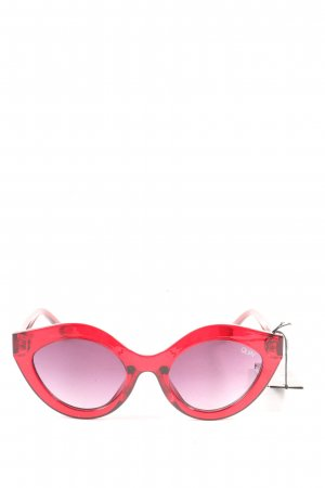 Quay Butterfly Glasses red casual look