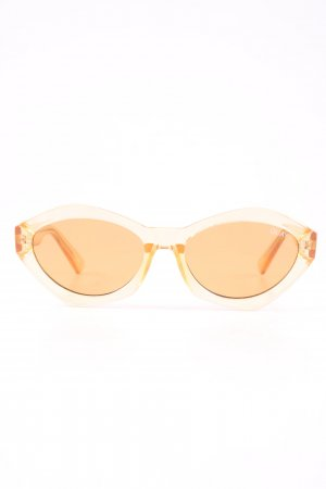 Quay Butterfly Brille nude Casual-Look