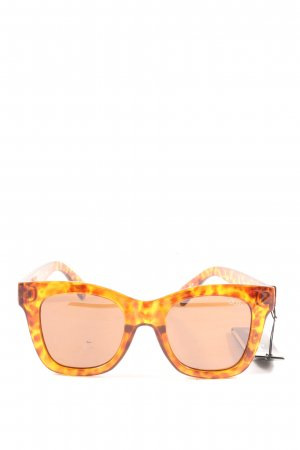 Quay Butterfly Glasses light orange abstract pattern casual look