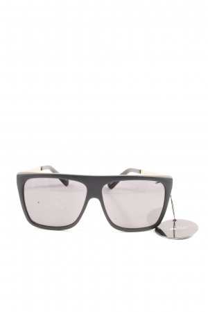 Quay Angular Shaped Sunglasses black-gold-colored casual look