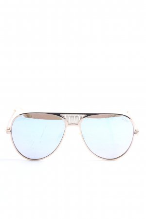 Quay Pilot Brille goldfarben Casual-Look
