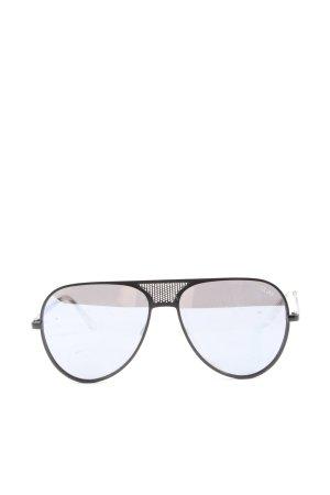Quay Pilot Brille schwarz Casual-Look