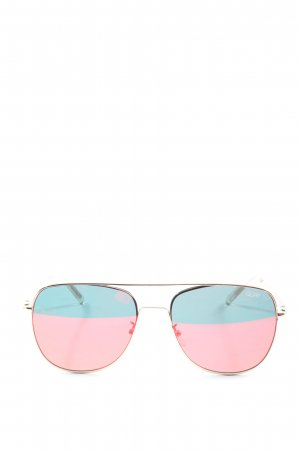 Quay Aviator Glasses gold-colored casual look