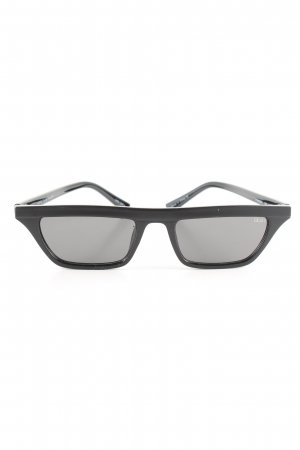 Quay Retro Brille schwarz Casual-Look