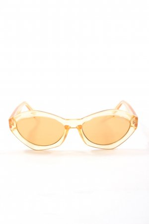 Quay Retro Glasses cream elegant
