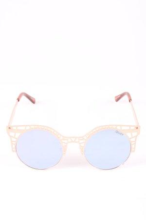 Quay Retro Brille nude-braun Casual-Look