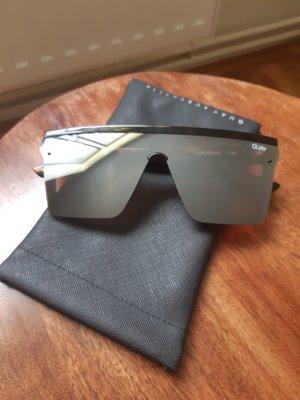 Quay Angular Shaped Sunglasses grey brown-dark brown