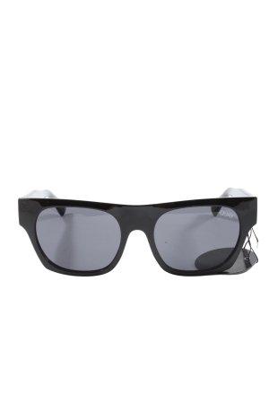 Quay Occhiale squadrato nero stile casual