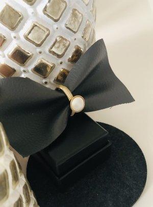 qudo Złoty pierścionek złoto-biały