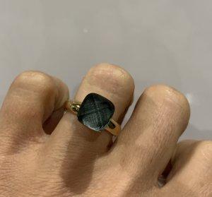 qudo Ring gold / grau