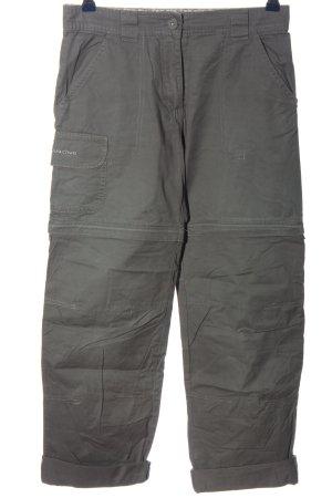 Quechua Pantalone largo grigio chiaro stile casual