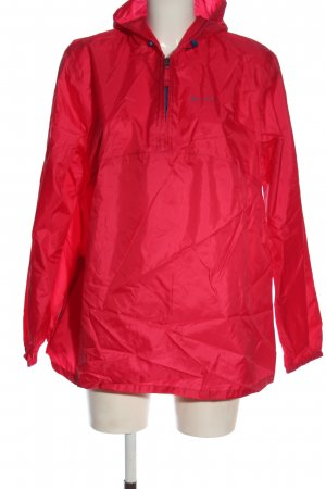 Quechua Raincoat red casual look