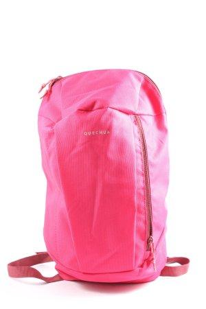 Quechua Sac à dos collège rose style décontracté