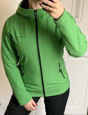 Quechua Softshell Jacke grün Gr. XS/S