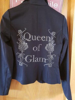 Queen of Glamour Blazer mit Glitzersteinen, Neu