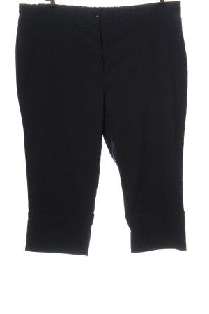 Queen-Size Pantalon 3/4 noir style décontracté