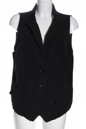 Queen-Size Waistcoat black business style