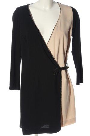 Queenie Mini Abito nero-crema stile casual