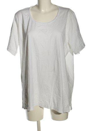 Queensize T-Shirt weiß Casual-Look