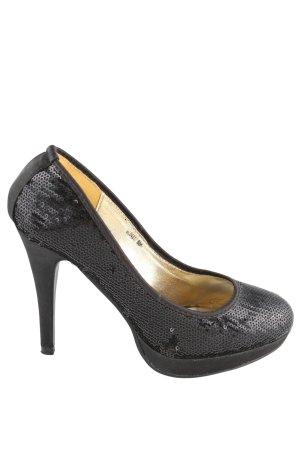 Queentina High Heels schwarz Elegant