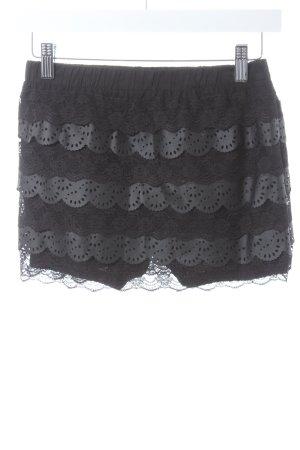 Queguapa Jupes-culottes noir