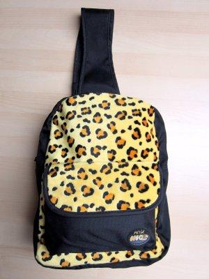 Querträgertasche mit Leoparden-Muster