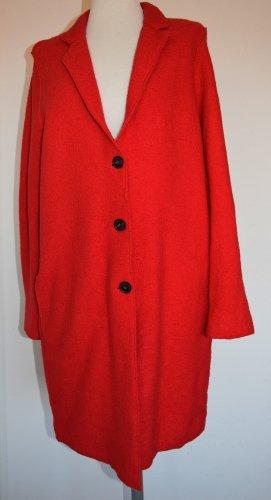 Qui - Legerer Mantel für den Übergang in frischem Rot