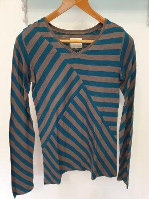 Quicksilver Long Shirt grey-blue cotton