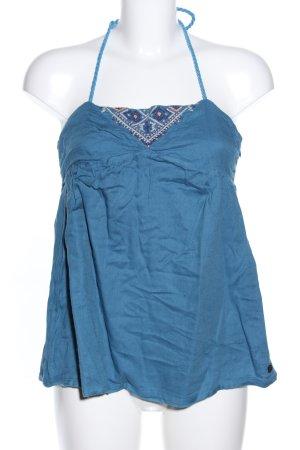 Quicksilver Top con bretelline blu stile casual