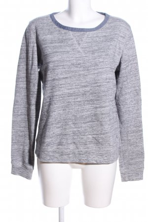 Quicksilver Sweat Shirt light grey flecked casual look