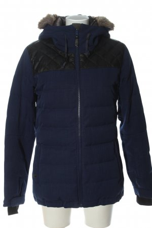 Quicksilver Winter Jacket blue quilting pattern casual look