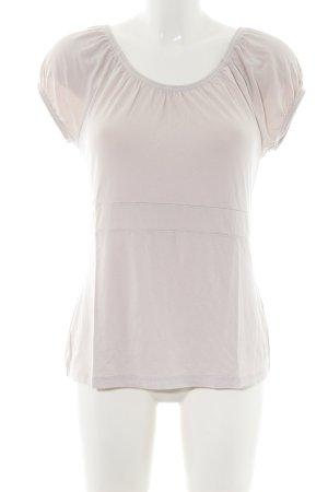 Quiero Camisa tipo Carmen blanco puro look casual