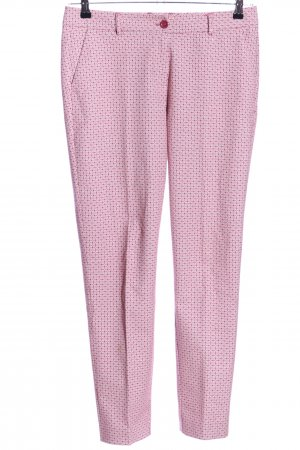 Quiero Pallazzohose grafisches Muster Business-Look