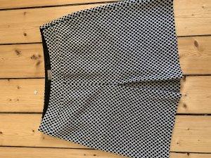 Quiero Wool Skirt black-white