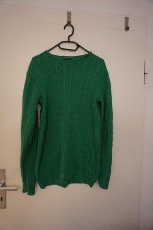 Charles Tyrwhitt Coarse Knitted Sweater green