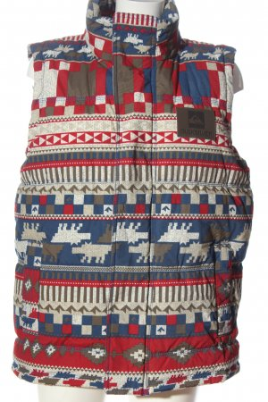 Quiksilver Down Vest allover print casual look