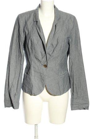 Quiksilver Jersey Blazer gris claro moteado look casual