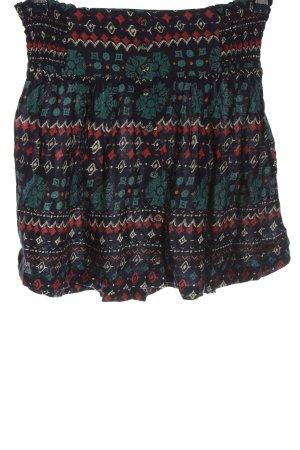 Quiksilver Mini-jupe motif abstrait style décontracté