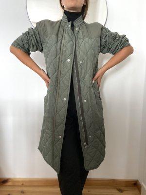 InWear Oversized jas khaki-groen-grijs