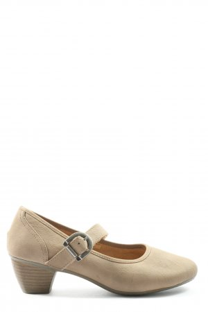 quiva Mary Jane Pumps natural white casual look
