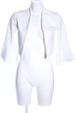QUIZ Torera blanco elegante
