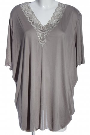 QVC Oversized Blouse brown casual look