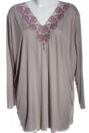 QVC Oversized Blouse light grey-pink casual look