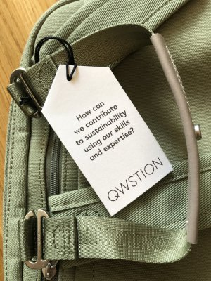 QWSTION Daypack Organic Moss