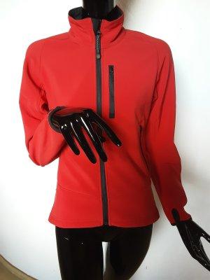 Kurtka sportowa czarny-czerwony