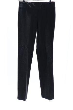 Anzughose schwarz Casual-Look