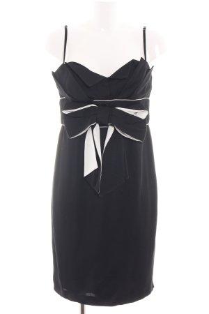 R.E.D. Valentino Abendkleid schwarz Elegant