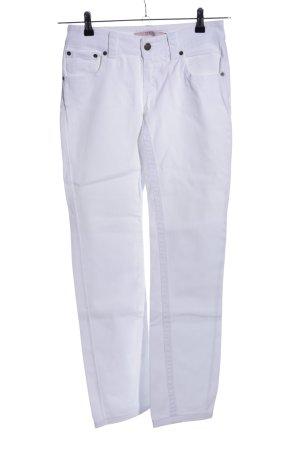 R.E.D. Valentino High Waist Jeans weiß Casual-Look